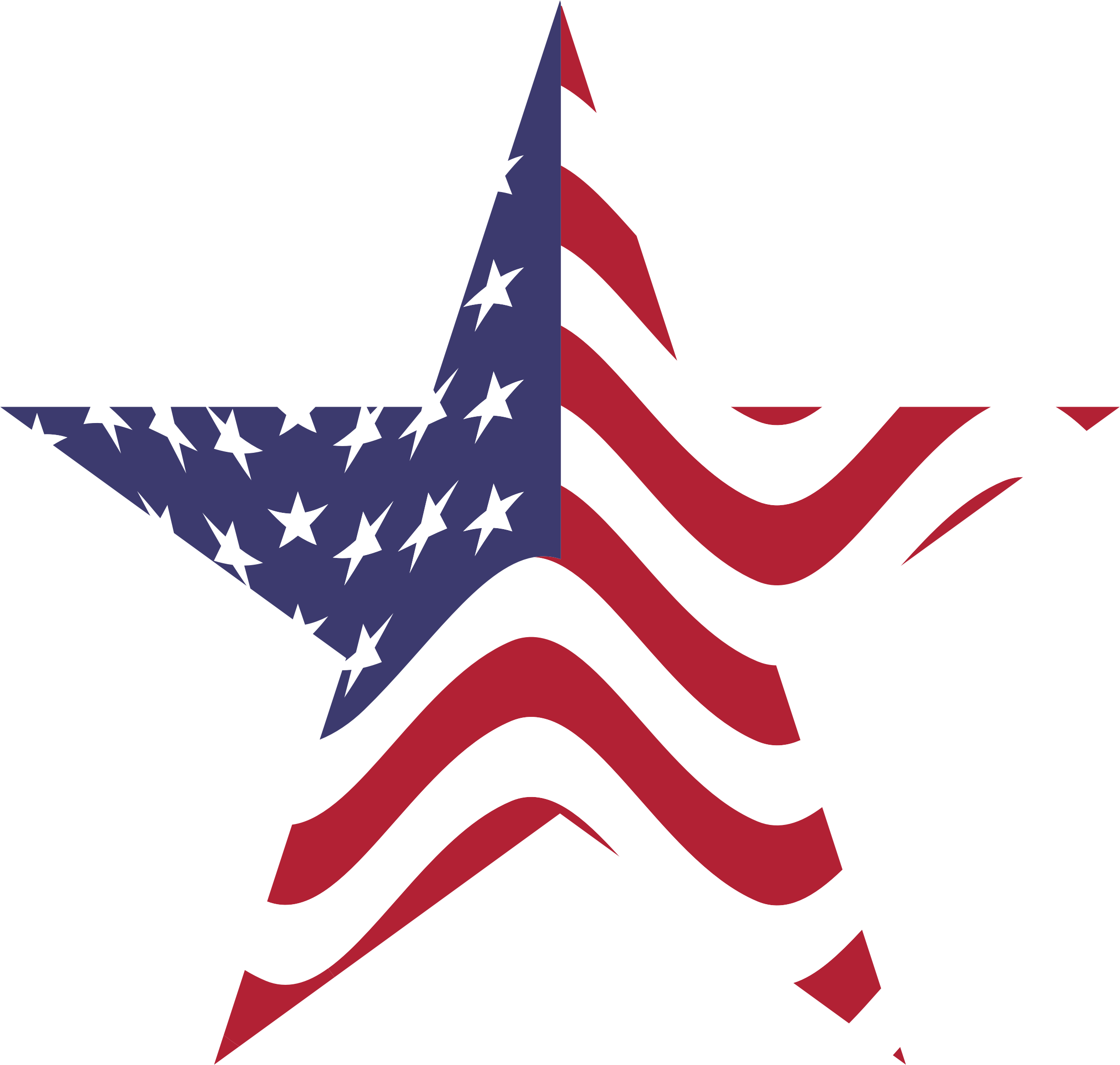 2332x2218 Us Flag American United States Clipart 2