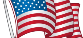 272x125 American Flag United States Flag Clipart 3 Clipartcow