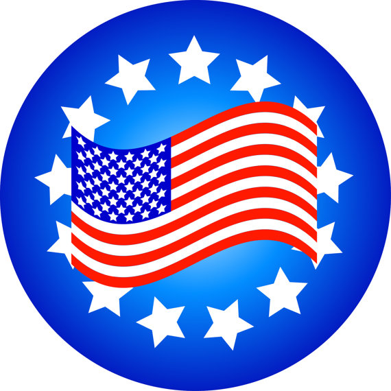 570x570 American Flag Clipart Patriotic Clip Art American Flags