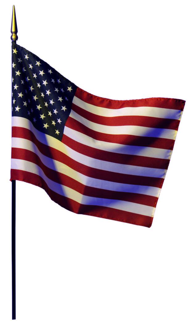 614x1050 American Flag Logo Clipart