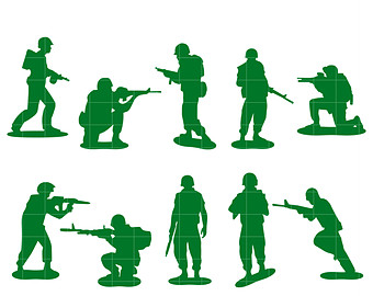 340x270 Army Clipart Etsy