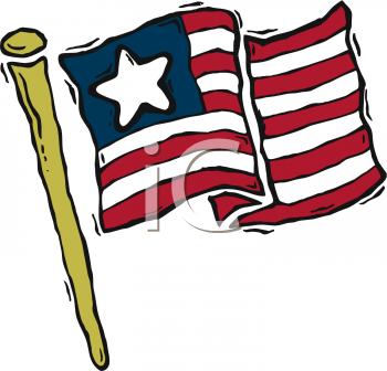 350x336 Royalty Free United States Flag Clip Art, United States Clipart