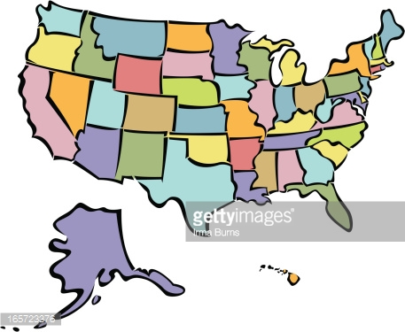 457x375 United States Clipart Cartoon