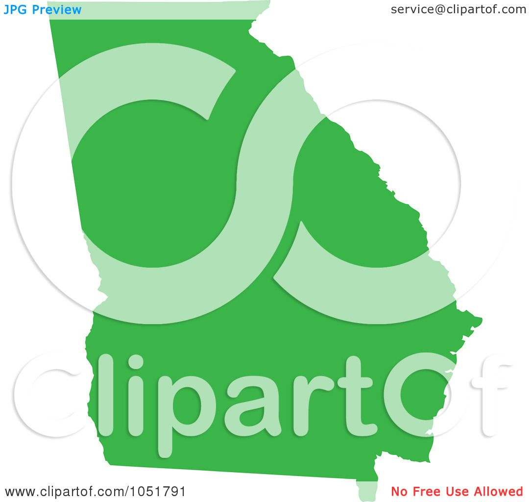 1080x1024 United States Clipart Green