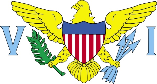 600x320 United Statesus Virgin Islands Clip Art Free Vector In Open Office