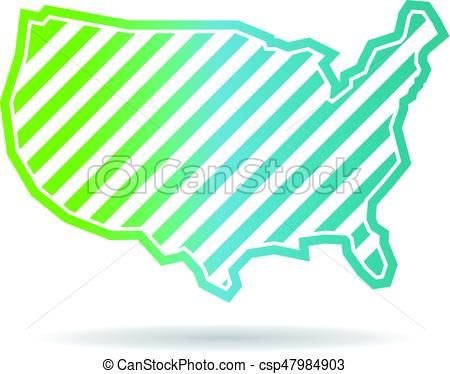 United States Clipart Map