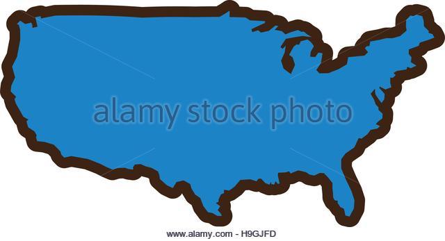 640x347 United States America Map Stock Photos Amp United States