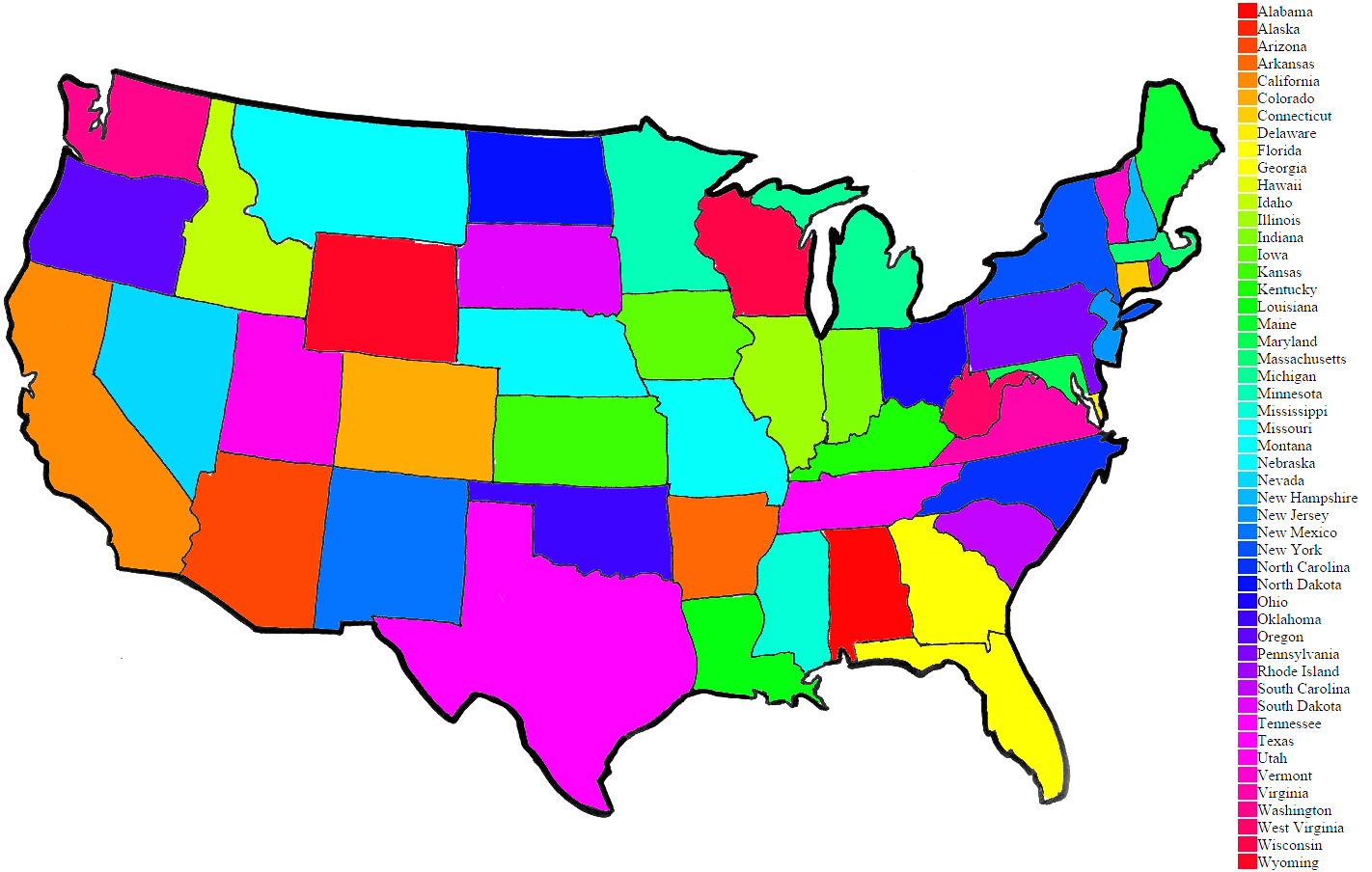 1422x904 United States Coloring Page Printable Pages Exceptional Map