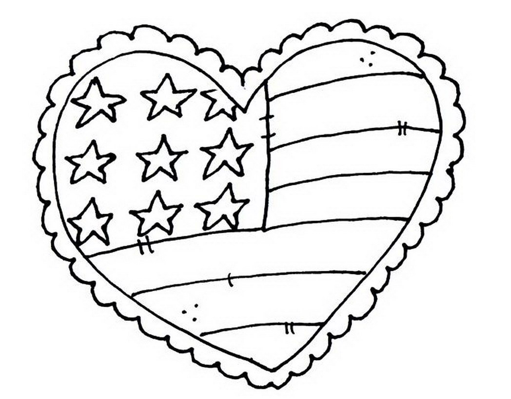 1048x818 United States Patriotic Holidays Coloring Pages