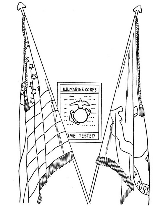 517x697 Veterans Day Coloring Pages For Kids