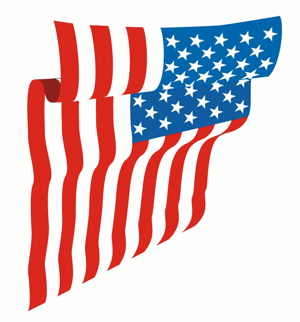 1000x1076 American Flag Clip Art Clipart