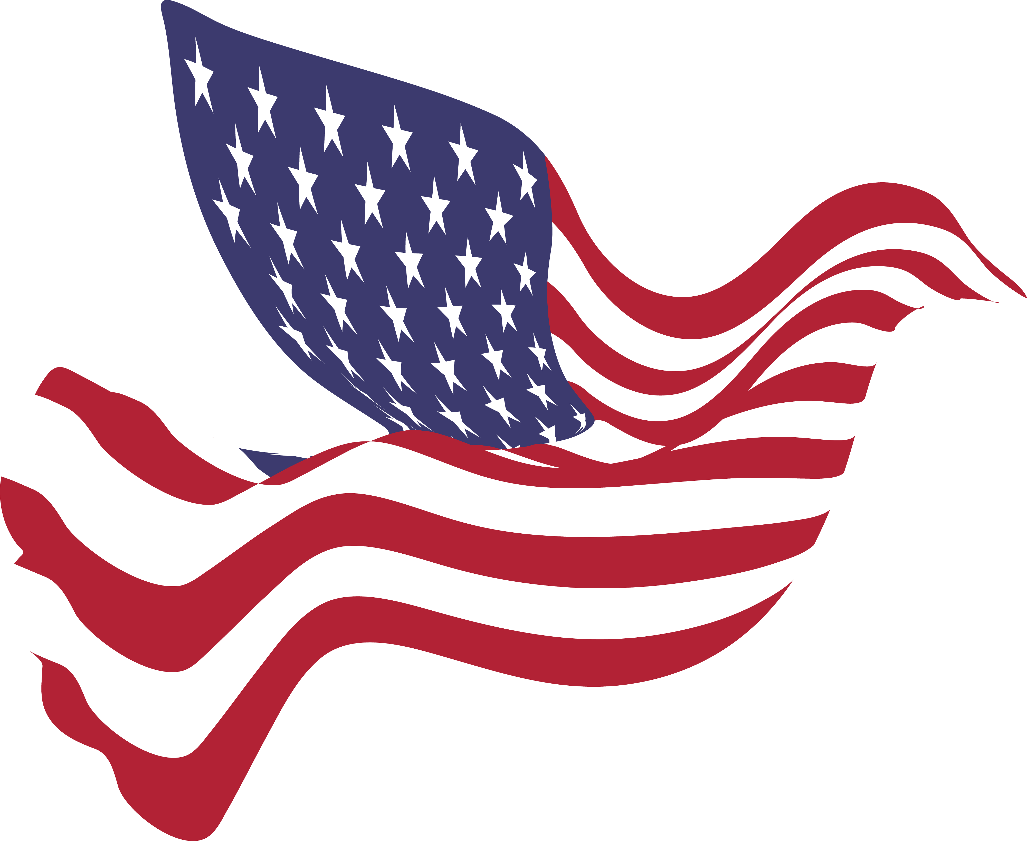 4000x3275 American Flag Clipart Photos