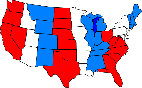 600x370 Red Blue Us Map