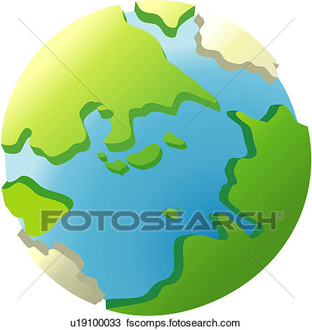 445x470 Clipart Of Universe, Earth, Globe, Traveling, World, Icon