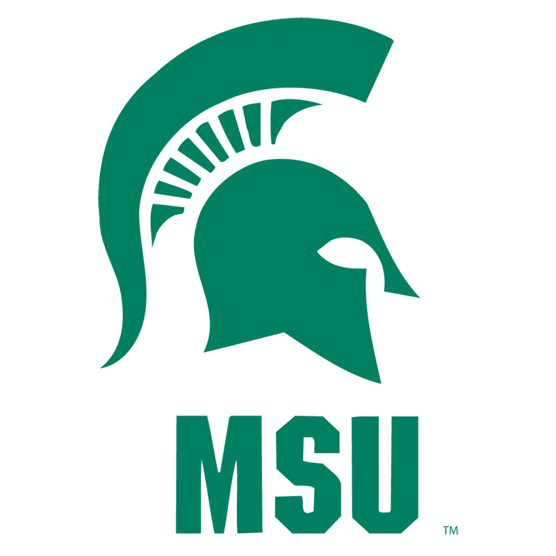 800x800 Michigan State Logo Clip Art