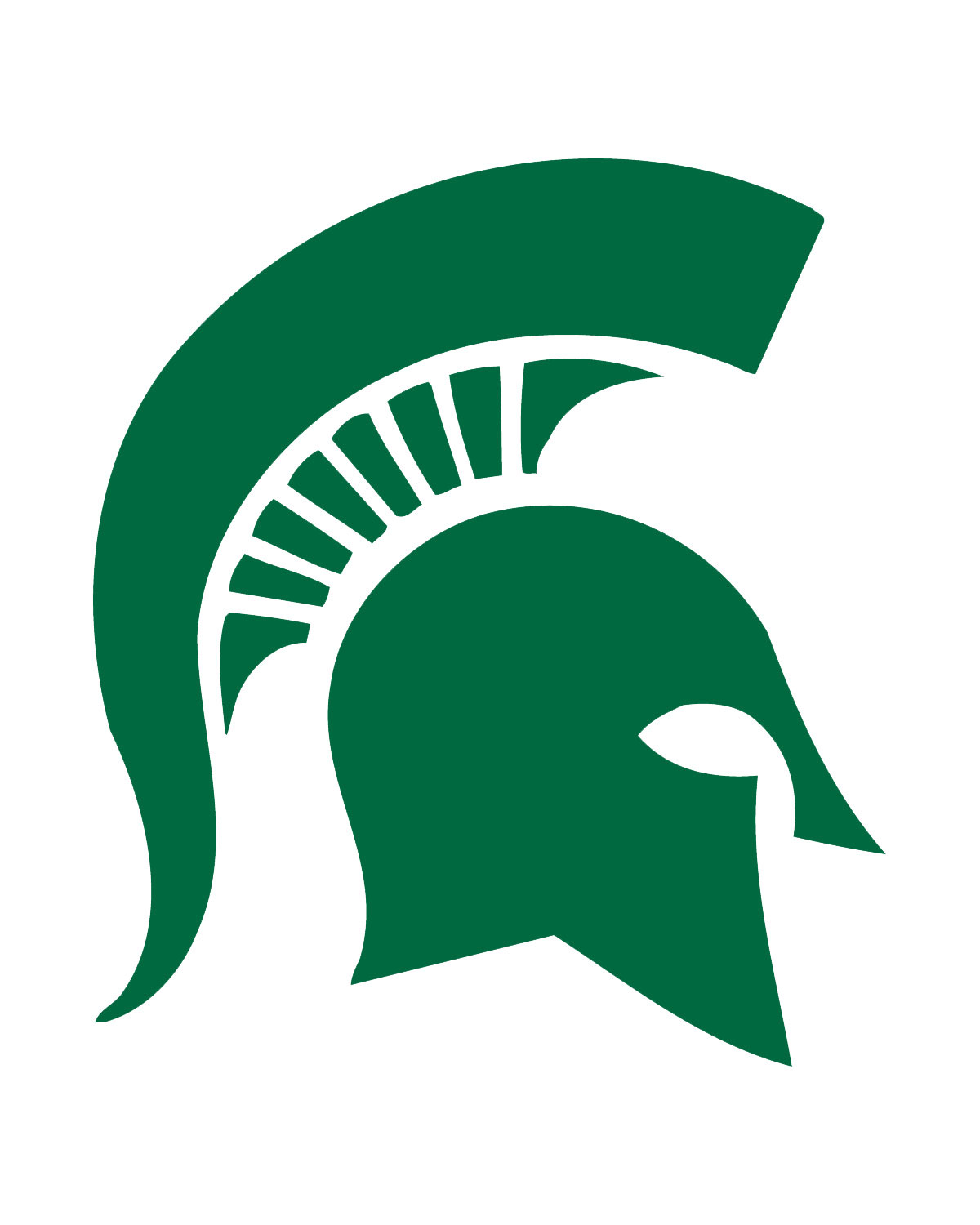 1200x1500 Michigan State University Logo Clip Art