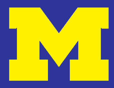 485x375 University Of Michigan Emblem Clip Art