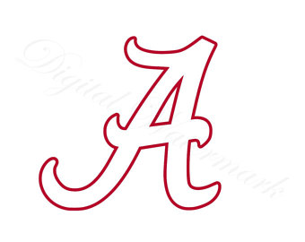 340x270 Alabama Outline Svg Etsy