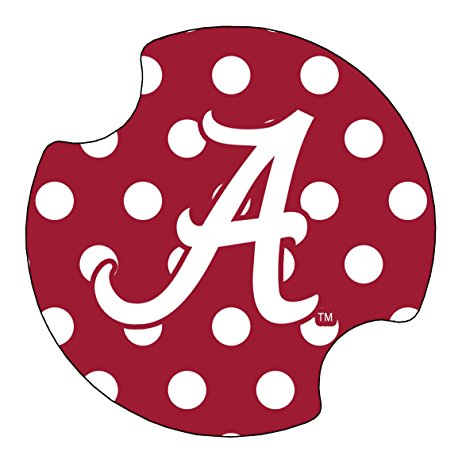 462x463 Thirstystone University Of Alabama Dots Car Cup Holder