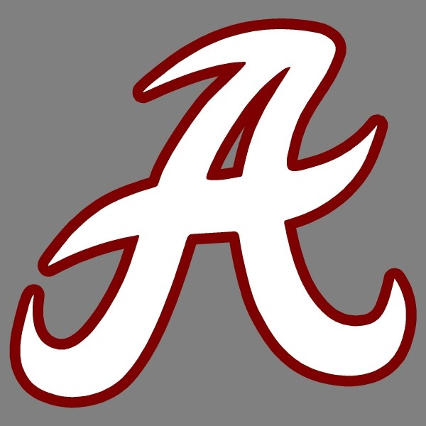 600x600 University Of Alabama Elephant Clipart