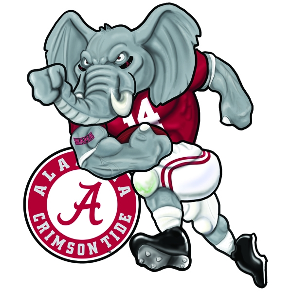 600x600 University Of Alabama Logo Clip Art