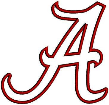 366x355 University Of Alabama Clipart
