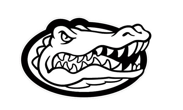 600x360 Florida Gator Logo Clip Art