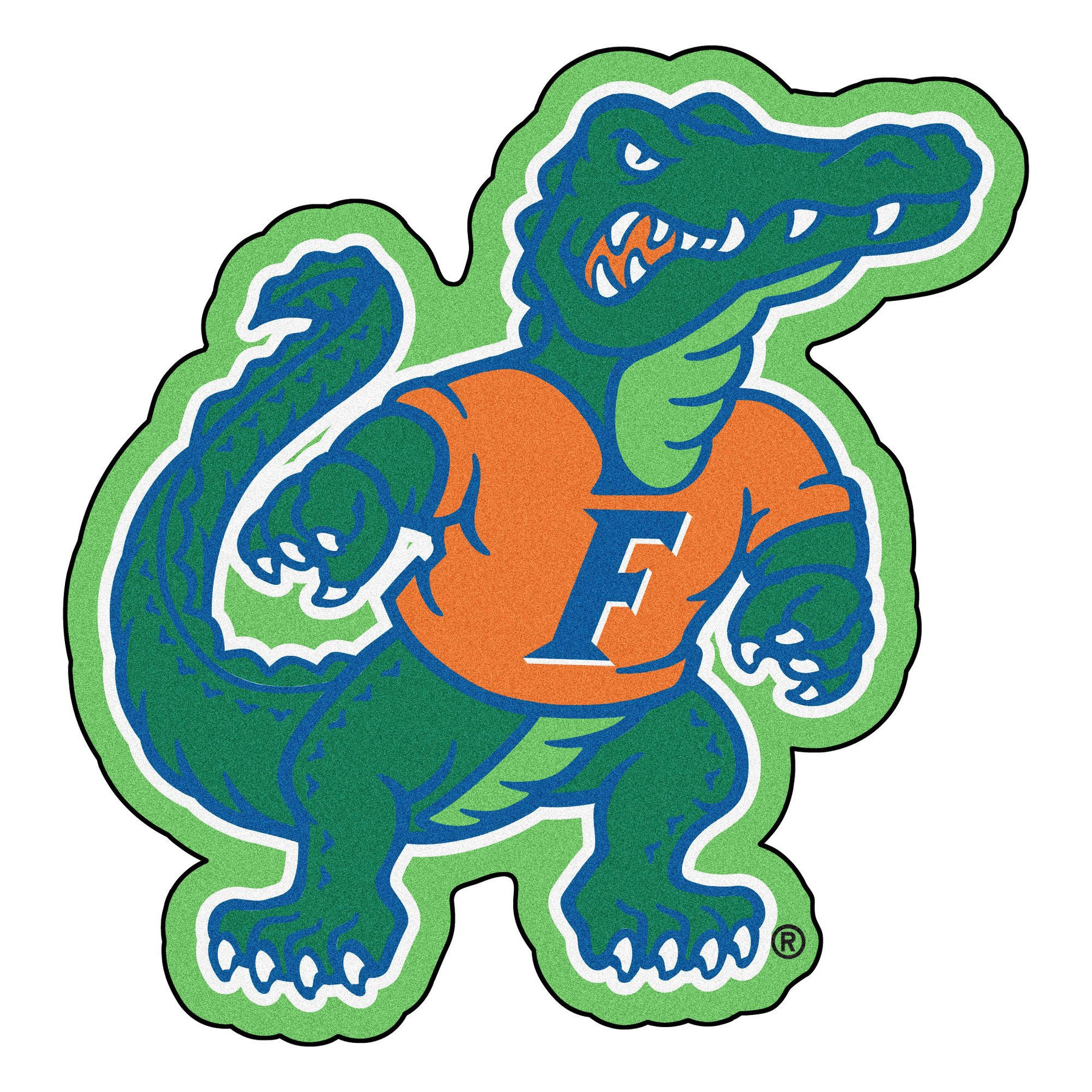 1800x1800 University Of Florida Gators Mascot Area Rug Zokee