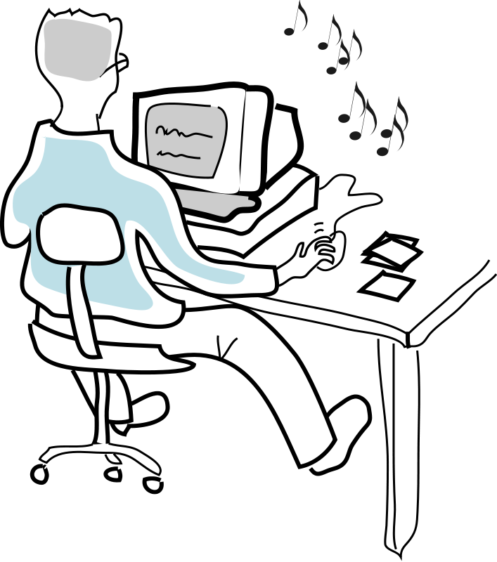 707x800 Free Clipart Pictures Of People Working