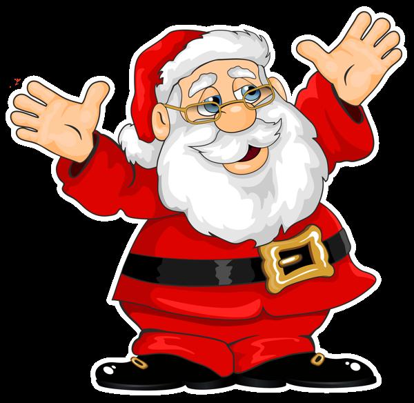 600x584 Santa Claus Png Clipart Christmas Images Santa