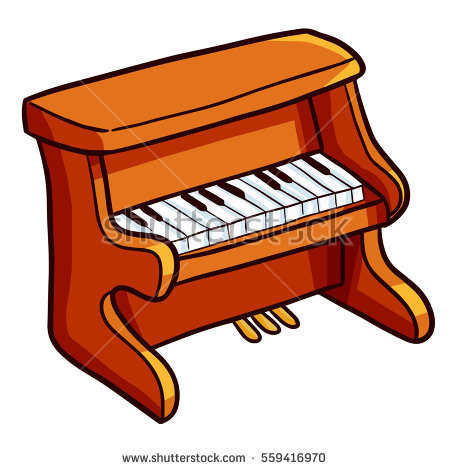450x470 Piano Clipart Animated