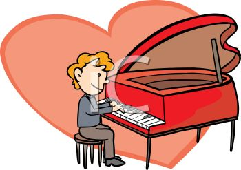 350x247 Playing Piano Clip Art Cliparts