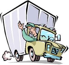 230x219 Delivery Truck Cartoon