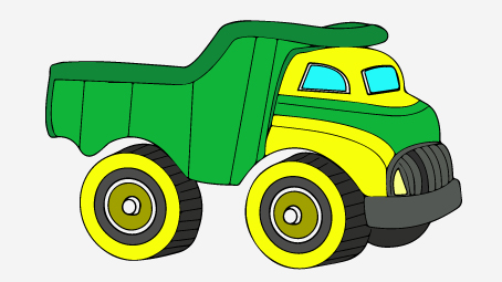 454x255 Top 25 Free Printable Truck Coloring Pages Online