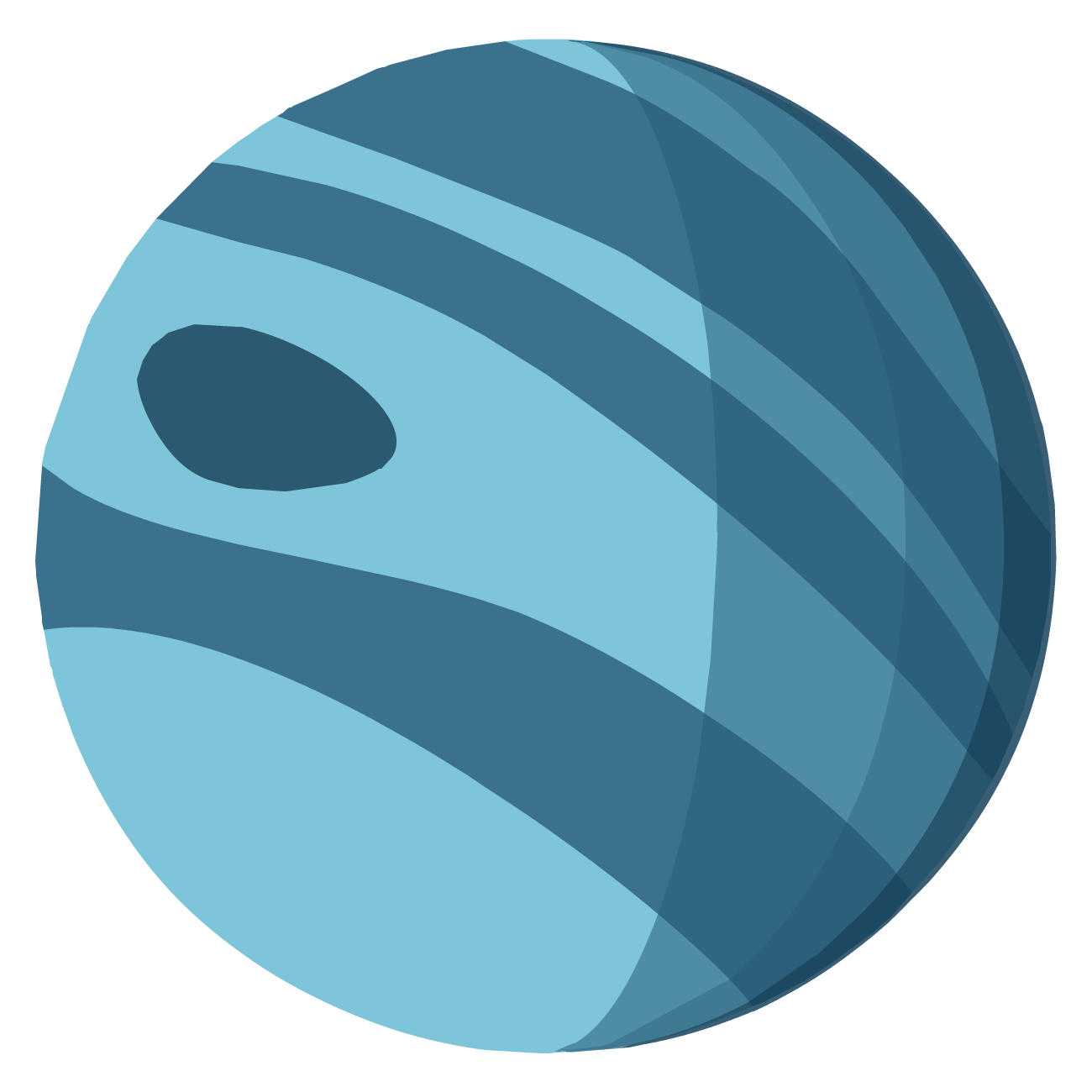 1300x1300 Marble Clipart Neptune Planet