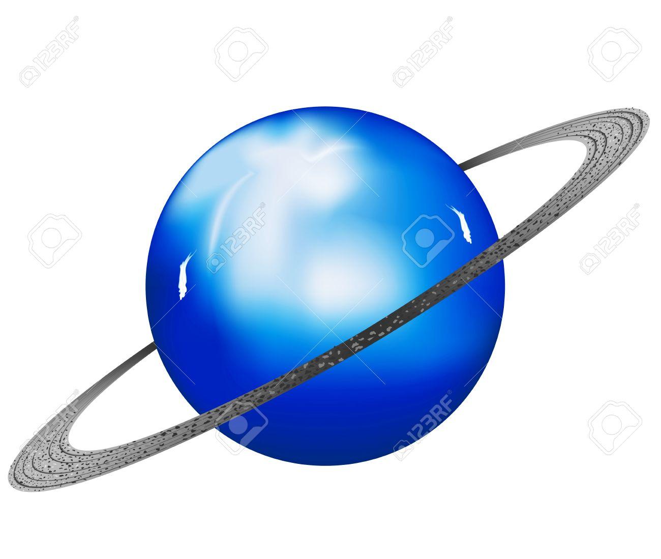 1300x1099 Clip Art Of The Planet Uranus Cliparts