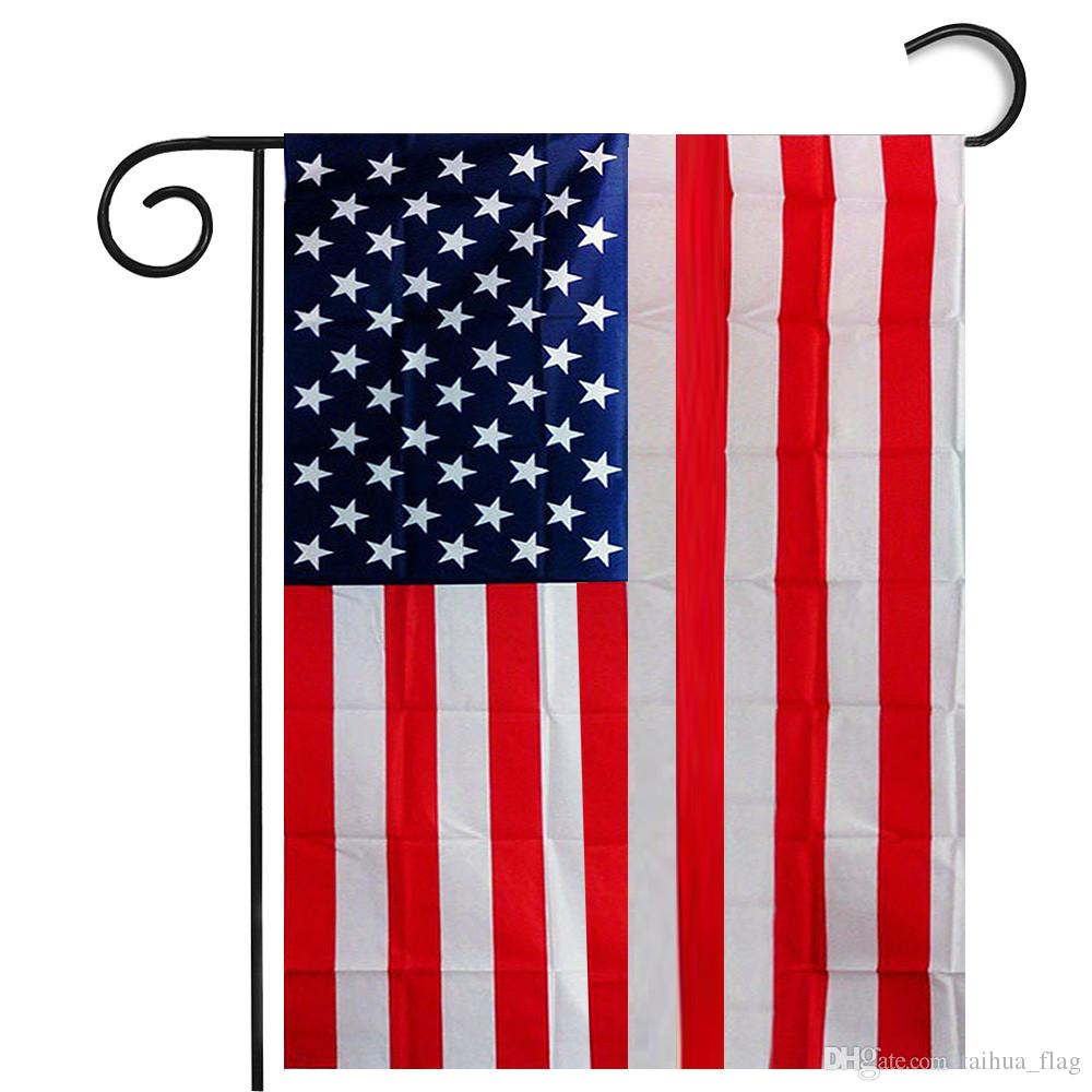 Us Flag Black And White