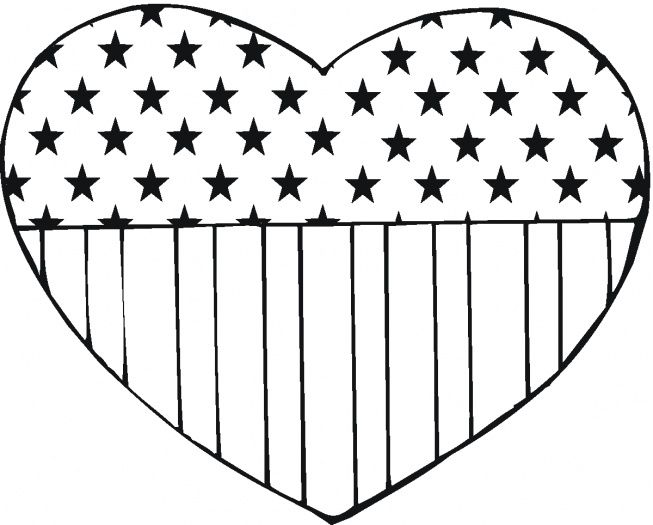 653x525 Best American Flag Coloring Page Ideas Veteran