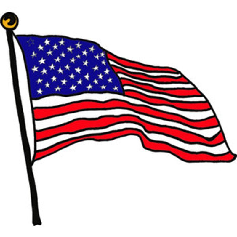 800x800 American Flag Clipart Little