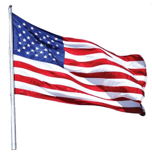 600x600 Nylon American State Flag