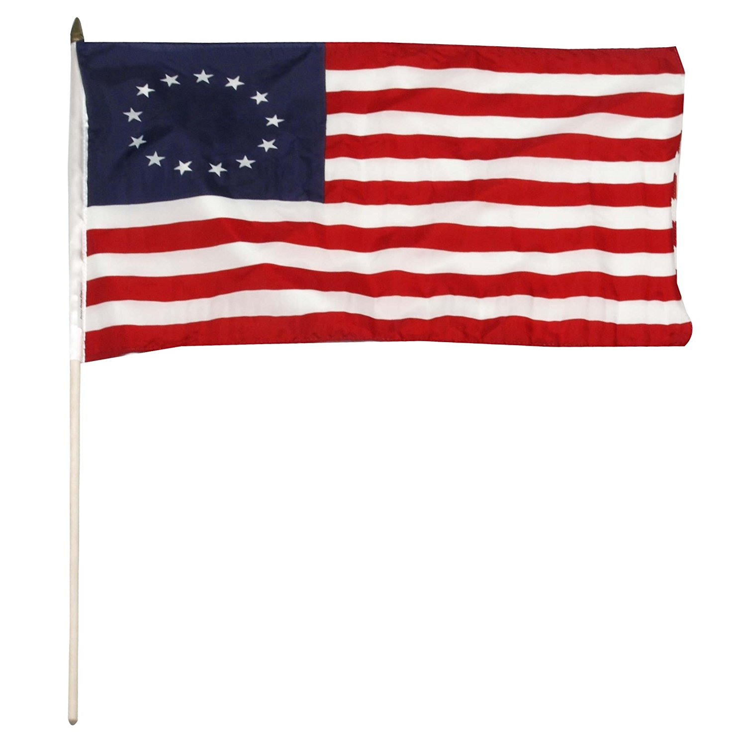 1500x1500 Us Flag Store Betsy Ross Stick Flag, 12 By 18 Inch