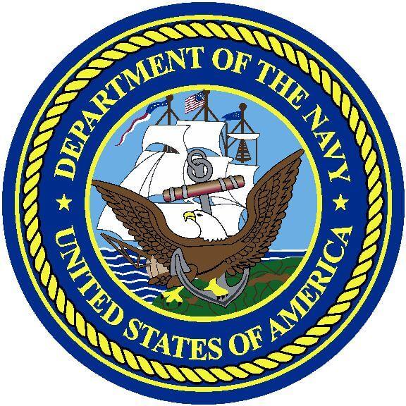 576x576 U.s. Navy Round Logo Rug Online Rug Rats