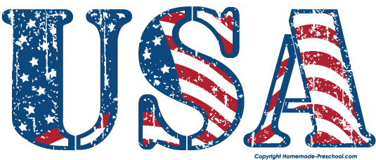535x229 American Flag United States Clipart 3