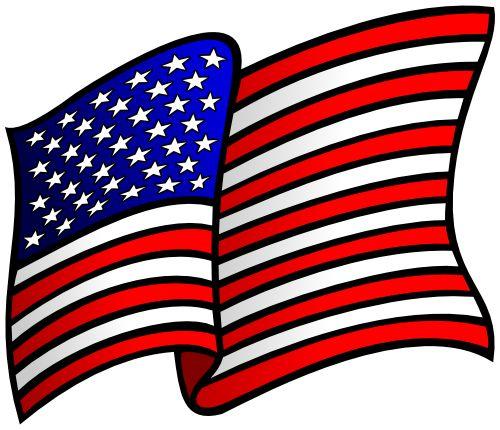500x430 Best American Flag Clip Art Ideas American Flag