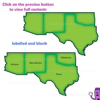 350x350 Regions Of The Usa Five Regions