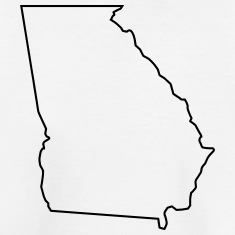 235x235 State Of Georgia Map Clipart