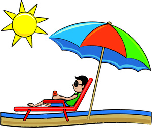 300x252 Beach Vacation Clipart Free Clipart Images