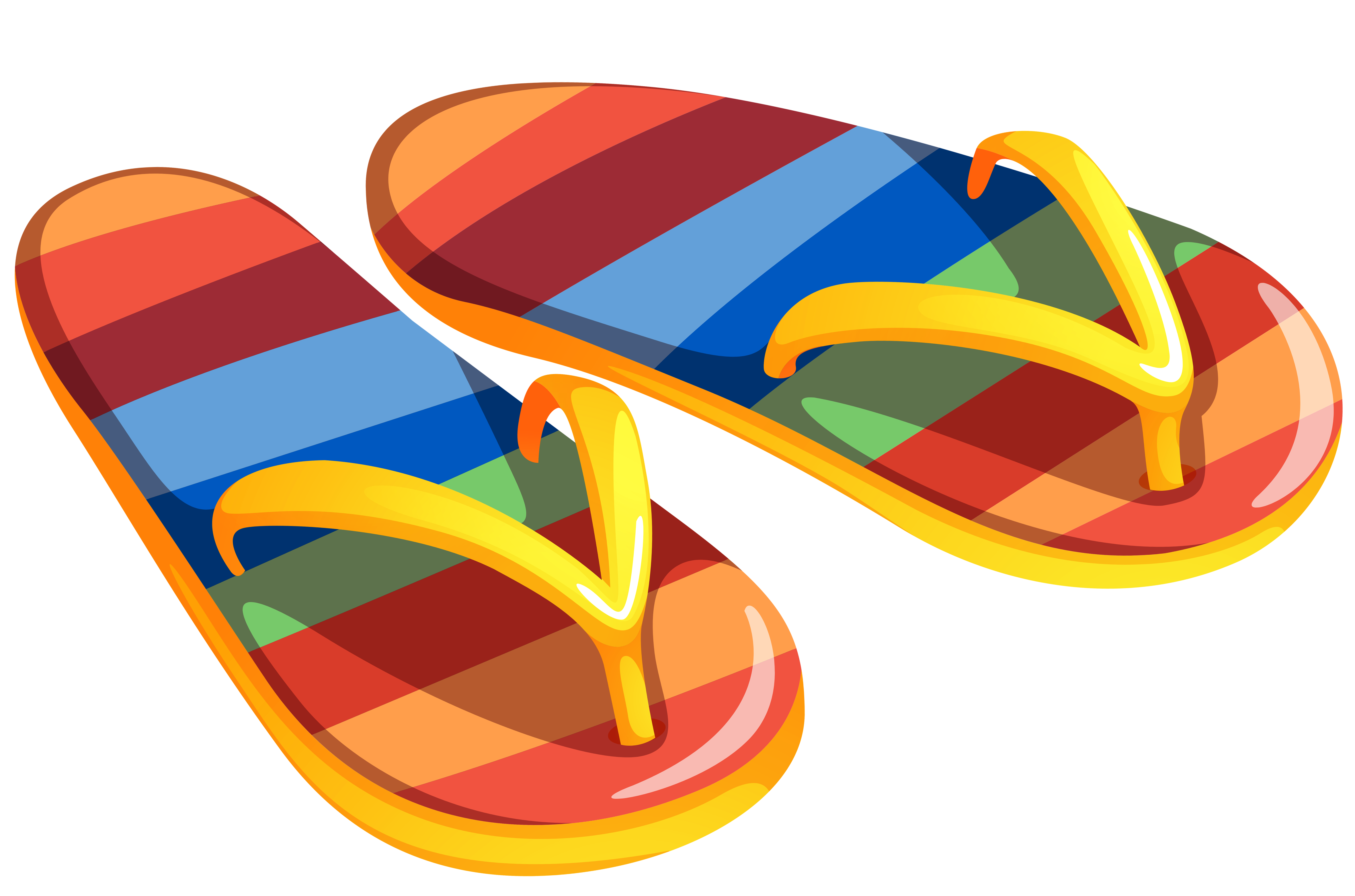 4726x3126 Transparent Beach Flip Flops Png Clipartu200b Gallery Yopriceville