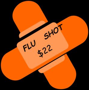 297x299 Flu Shot Clip Art
