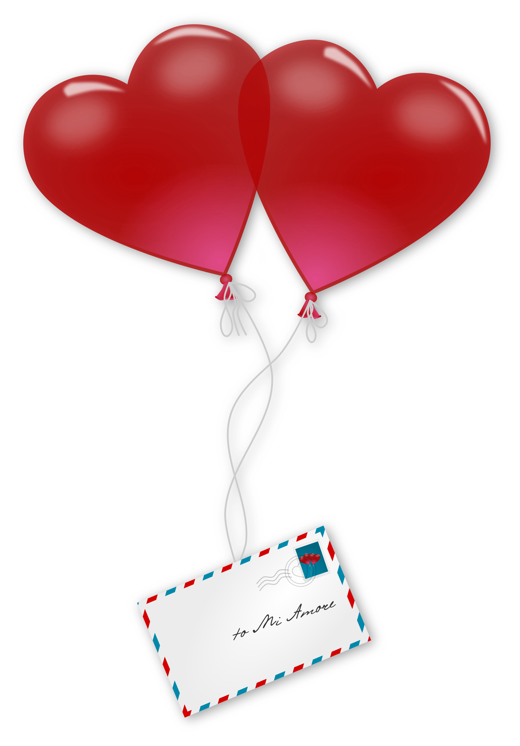 1672x2400 Valentine's Day Clipart Mail